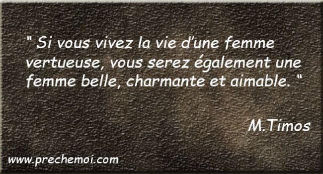 """Suis- je La Femme Vertueuse du """"Proverbe 31"""" ?"""