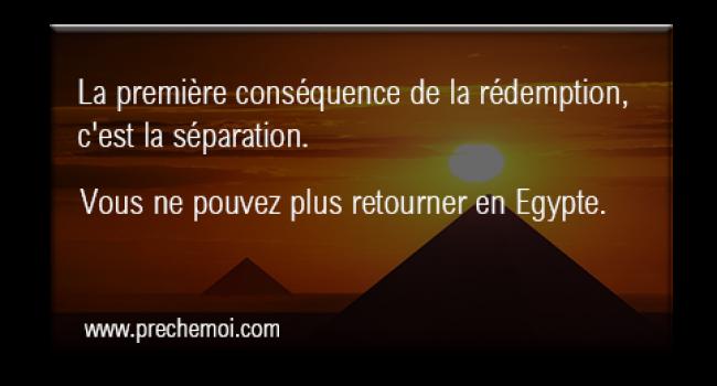 Tu ne peux plus retourner en Egypte